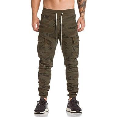 4aee75f849204 ❉ Pantalon Camouflage Pantalons De Sport Pantalons Chino Pantalons Grande  Taille Homme Pantalons De Jogging Pantalon Pyjamas Pantalons De ...