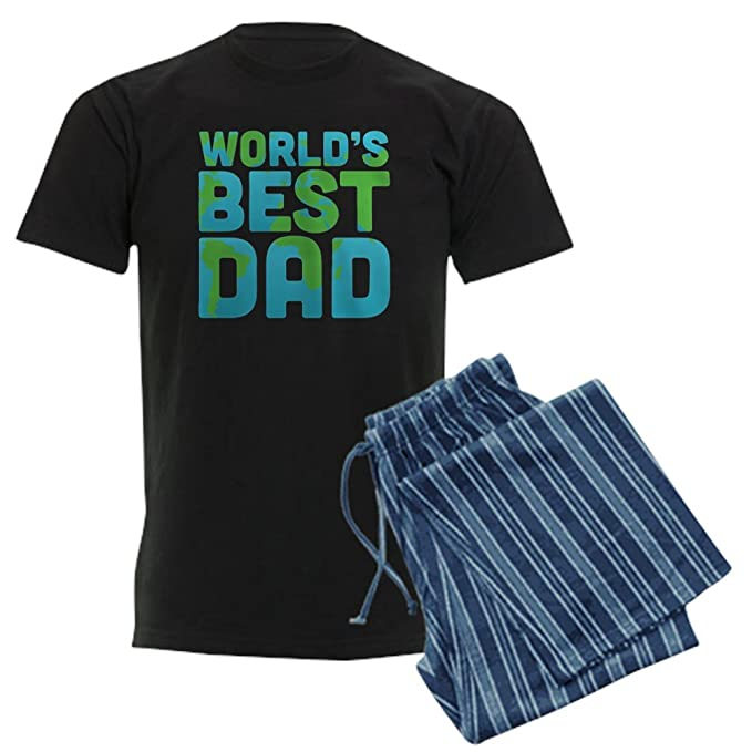 9d62760a3 CafePress World's Best Dad Pajamas Pajama Set: Amazon.co.uk: Clothing