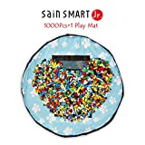 SainSmart Jr. 1000 Pc Building Bricks Set, with Kids Play Floor Mat, Tight Fit with Major Brand [Black Friday Deals]
