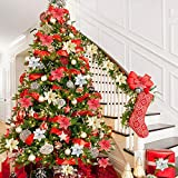 Artiflr 20 Pcs Christmas Poinsettia