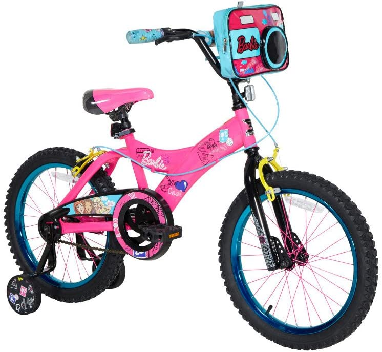 Barbie Bicicleta Dynacraft, Rosa, 18 Pulgadas: Amazon.es: Deportes ...