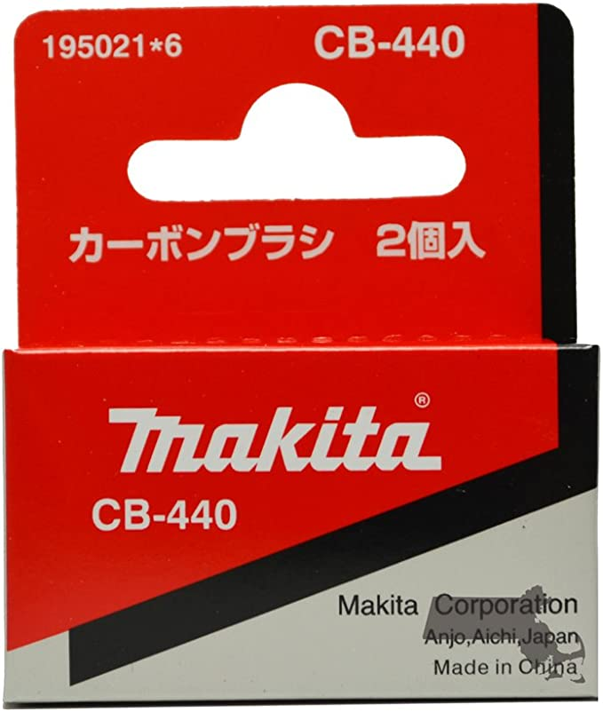 Kit Carbon Brush For Makita Series CB-440 Set BHP458 BDF452 BHP45 Impact Driver