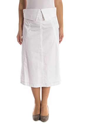 Phard P19025415854AH Polonia Falda Larga Mujer Blanco 1100 38 ...