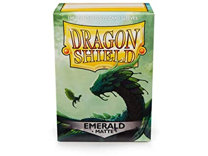Amazon.com: Arcane Tinmen Dragon Shield Matte Emerald ...