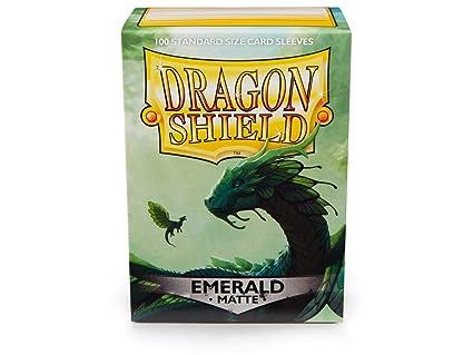 Amazon.com: Arcane Tinmen Dragon Shield Matte Emerald ...
