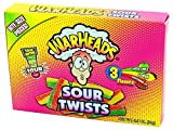 WARHEADS SOUR TWISTS Bite Size Pieces 3 Flavors 3.5 oz 6 in a pack