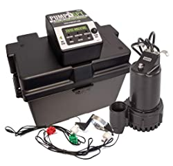 PumpSpy PS2000 WiFi Sump Pump Battery Backup System
