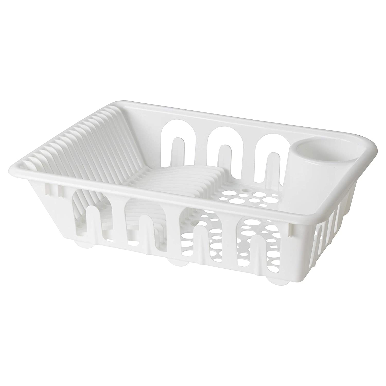ebd4b824b7eb Amazon.com: IKEA 401.769.50 Flundra Dish Drainer, White: Kitchen & Dining