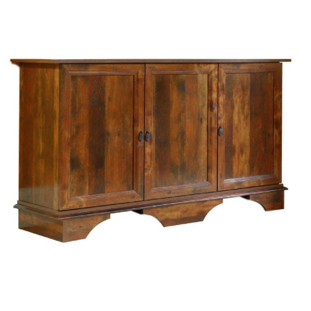 BS Dining Room Server Cabinet with Storage Rustic Buffet Chest Organizer 3 Adjustable Shelves Bedroom Combo Dresser Accent Cabinet Entryway Living Room Office Aged Cherry Finish & eBook by BADA shop