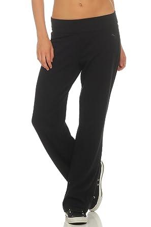 Puma Damen CN Yoga Slim-Fit Bootcut Sporthose Farbe: schwarz; Größe ...
