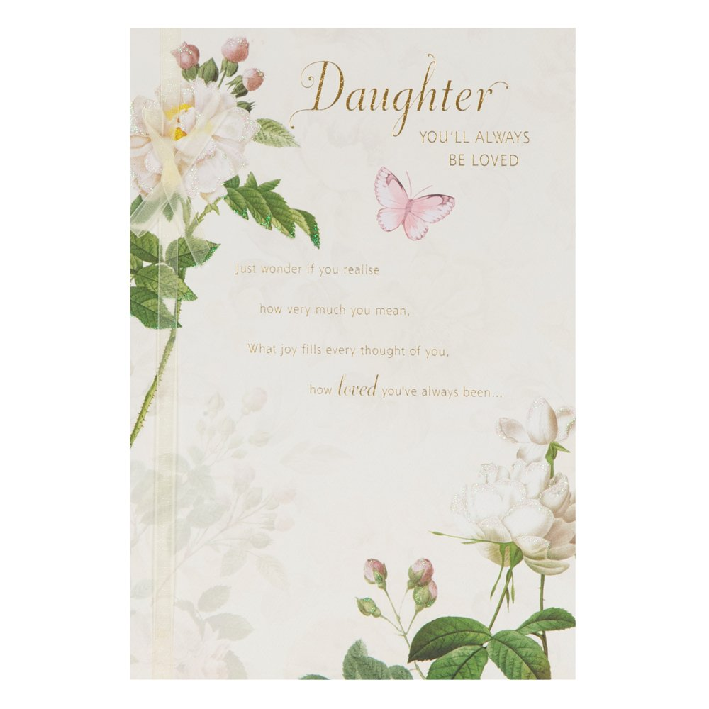 Hallmark Birthday Card For Daughter Youre Always Loved Medium – Daughter Birthday Cards