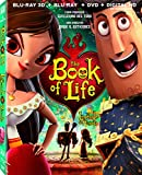 The Book of Life [Blu-ray 3D + DVD] (Bilingual)