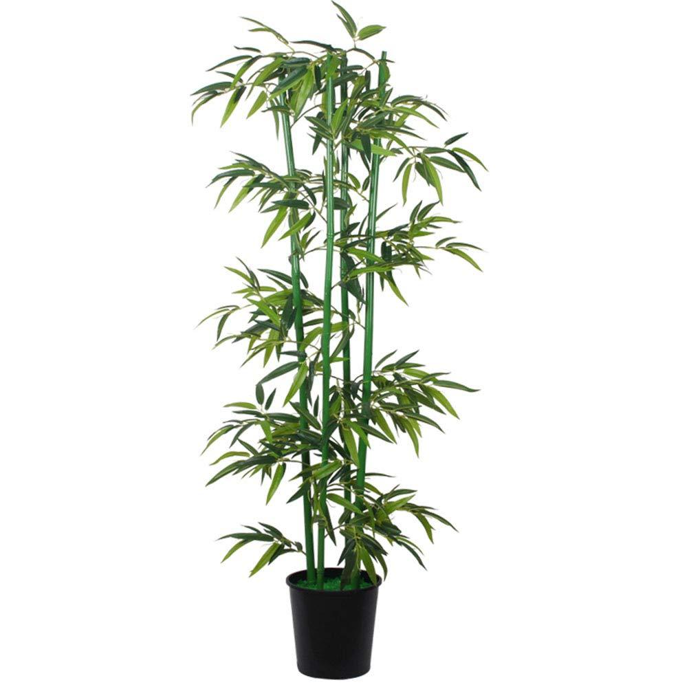 MWNV 人工竹は偽の竹の緑の床の植物を飾ったリビングルームの装飾偽緑の植物 - 造花 3233 (Color : B) B07SVYVRD5 B