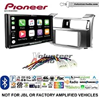 Volunteer Audio Pioneer AVH-W4400NEX Double Din Radio Install Kit with Wireless Apple CarPlay, Android Auto, Bluetooth Fits 2010-2013 Non Amplified Toyota 4Runner
