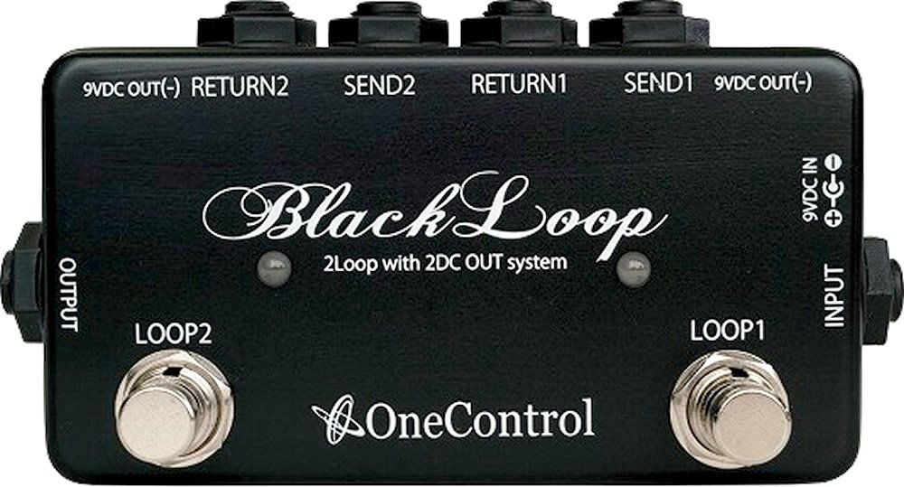 Pedal Footswitch One Control Black Loop OC-MBL-1
