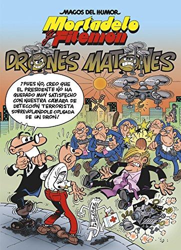 Mortadelo y Filemón. Drones matones Magos del Humor 185: Amazon.es ...