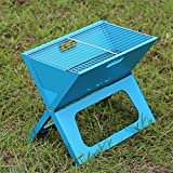Grills Out Grills Outdoor Barbecue Grill Portable Folding Camping Patio Garden charcoal furnace Household BBQ grills Burn oven stove , 7