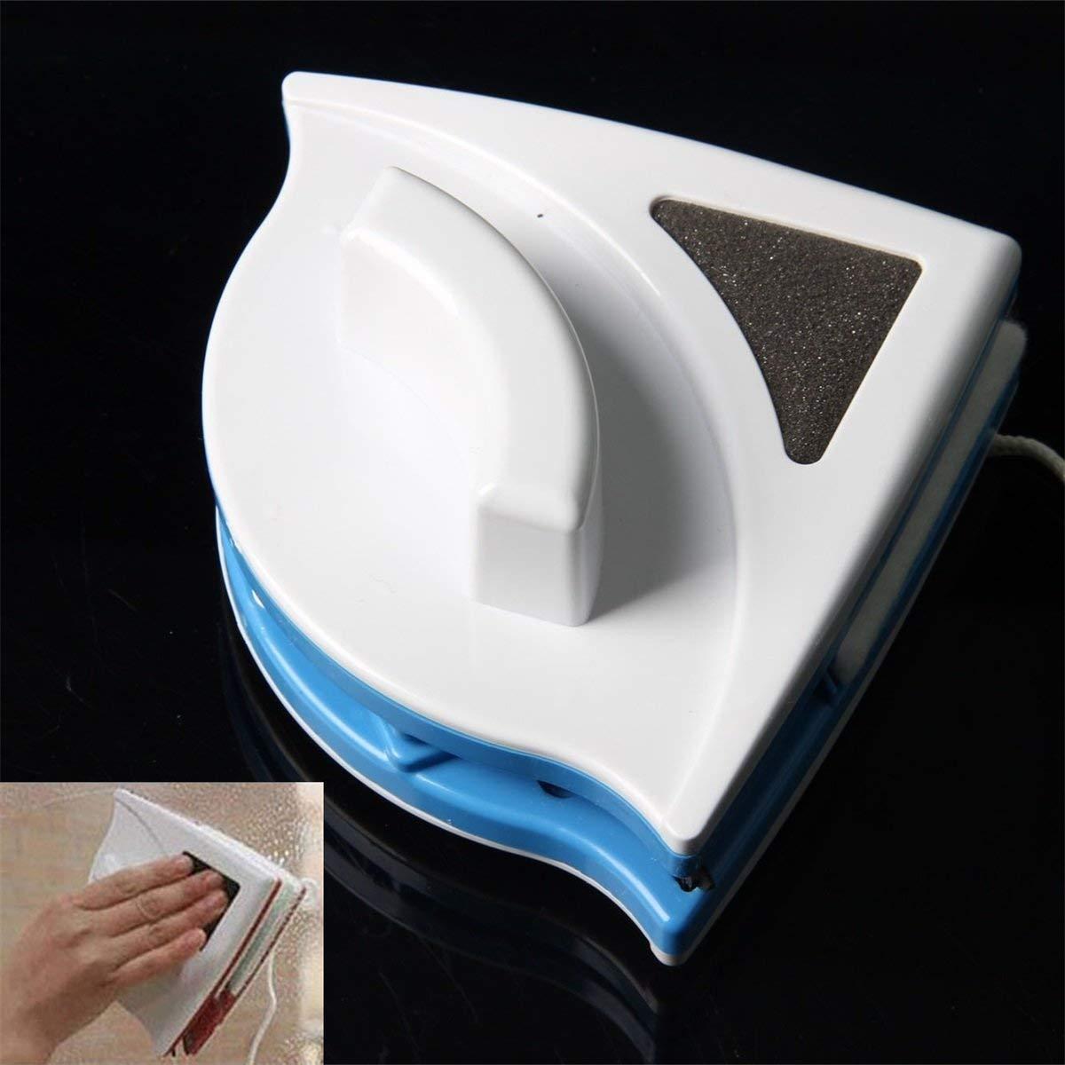 Limpiador para dos caras by ARTUROLUDWIG muy conveniente interior y exterior Limpiador de cepillos magn/ético para vidrios cristales y ventanas