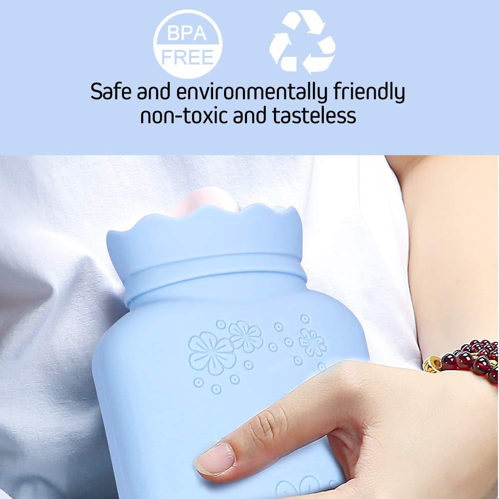 Amazon.com: HOPAS - Bolsa de agua caliente de silicona para ...