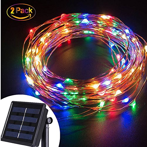 String lights 100 led copper wire starry fairy rope lights outdoor solar string lights 100 led copper wire starry fairy rope lights outdoor waterproof decorative string tree wrap mozeypictures Choice Image