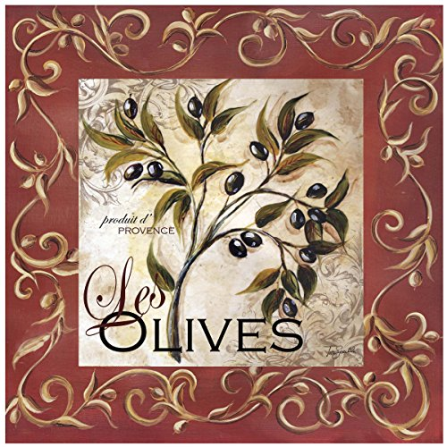 Thirstystone Occasions Trivet, Olive Scroll, Multicolor