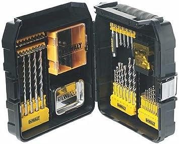 Dewalt Juego de Brocas y Puntas DT9283-QZ, 69 Piezas en maletín de Accesorios XL Maxisafe, Negro, Set: Amazon.es: Bricolaje y herramientas