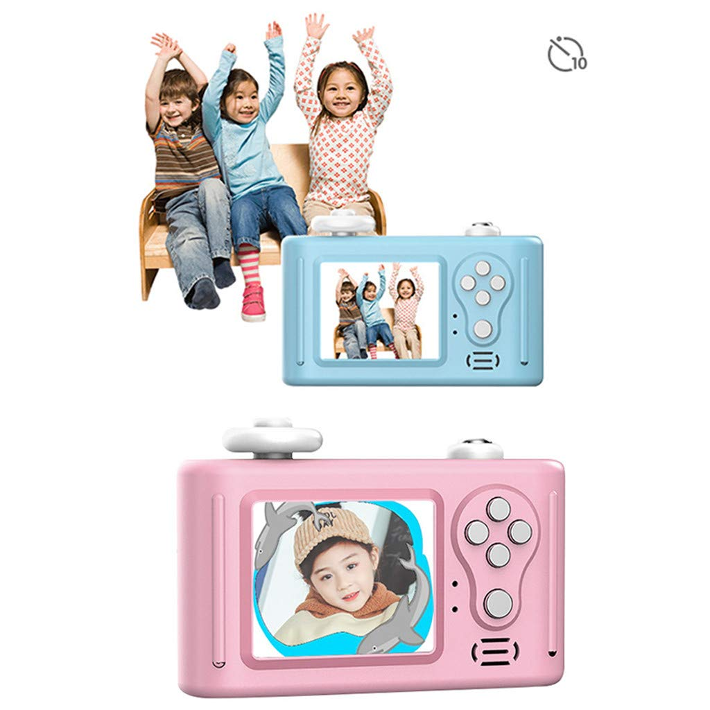 NiceBUY Kids Camera Toys for Boys and Girls Selfie Camera Birthday Gift Anti-Drop Protective Shell 2.0 Inch Screen 8MP HD Video Camera Gifts Lovely Animal Design (Panda) by NiceBUY (Image #4)