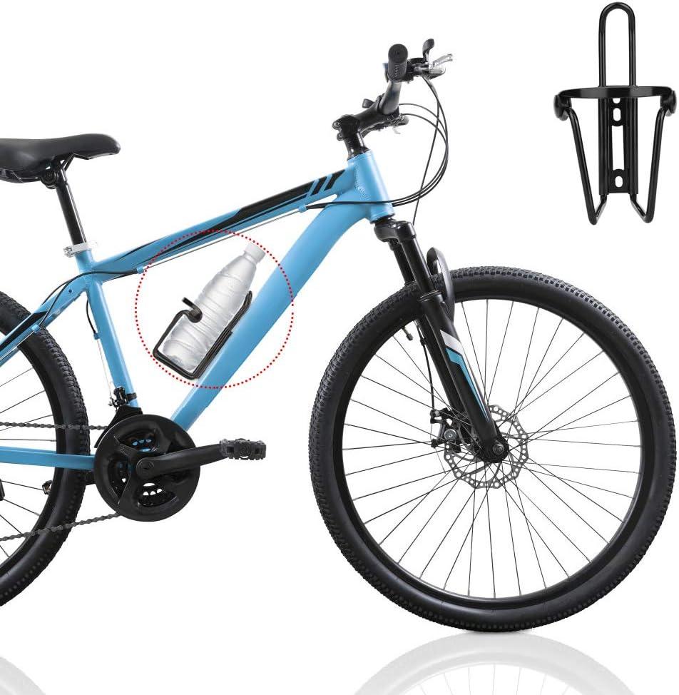 Hospaop Soporte Botella Bicicleta, Juego de 2 Portavasos Bicicleta ...