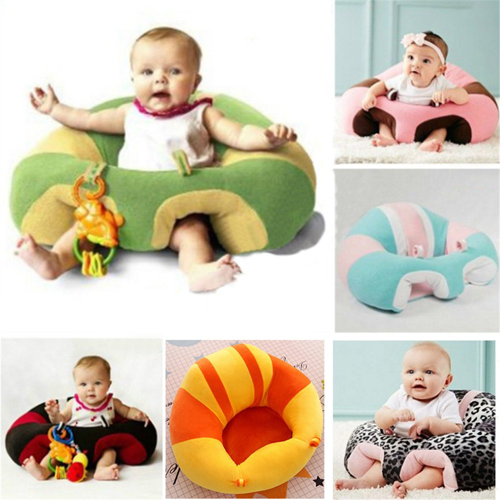 Baby Sofa,Sundlight Baby Support Seat Sofa Plush and PP Cotton Animal Pillow Protector Cushion Sitting Sofa for 0-2 Year Old Baby by Sundlight (Image #4)