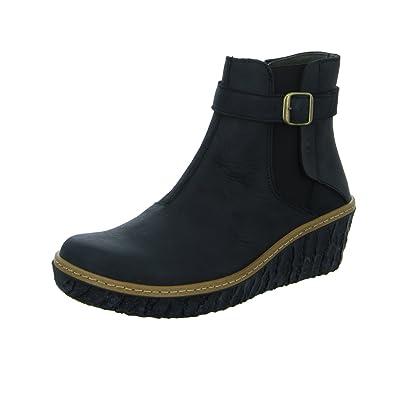 El Naturalista N5133 Myth Yggdrasil Komfortabler Damen Chelsea Boot,  Stiefelette, Schlupfstiefel, Perfekte Passform