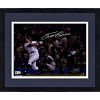 $237 » Framed Scott Brosius Signed 2001 WS HR Swinging 8x10 Photo (MLB Auth) - Steiner Sports Certified - Autographed MLB Photos