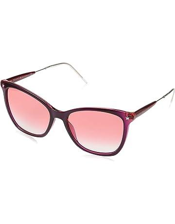 f29125bf35d3 Tommy Hilfiger Women's Th 1647/S Sunglasses, Multicolour (Red Fuchs), ...