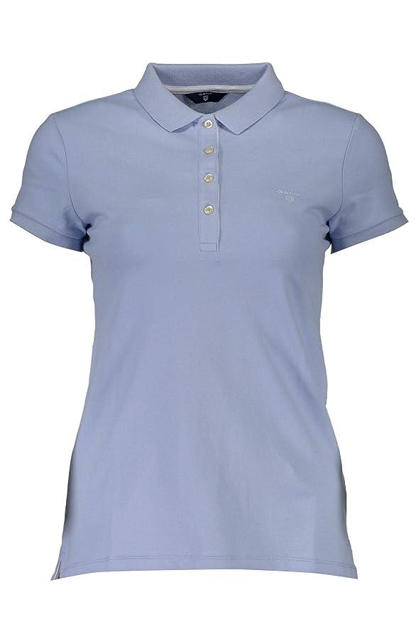 Gant The Original Pique Polo, Azul (Hamptons Blue 420), X-Small ...