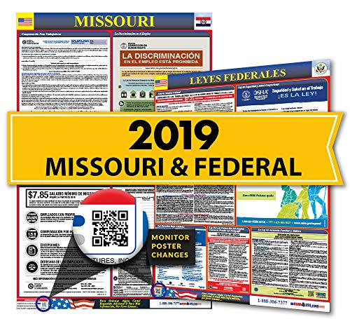 - 2019 Missouri Spanish State & Federal Labor Law Posters for Workplace Compliance ...