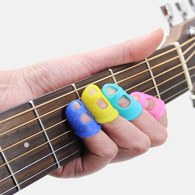 Joyibay 20pcs guitarra protector de dedo protector de dedo de ...