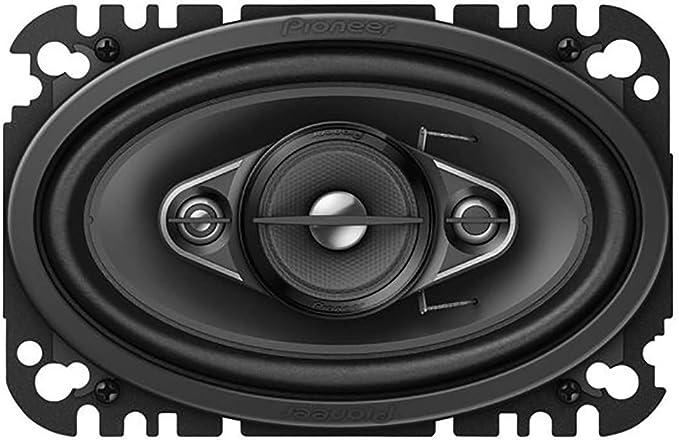 Pioneer Ts A4670f 4 Weg Koaxiallautsprecher 210 W 4 X 6 Ca 10 X 15 Cm Impp Membran Für Kraftvolle Bässe 2 Lautsprecher Schwarz Audio Hifi