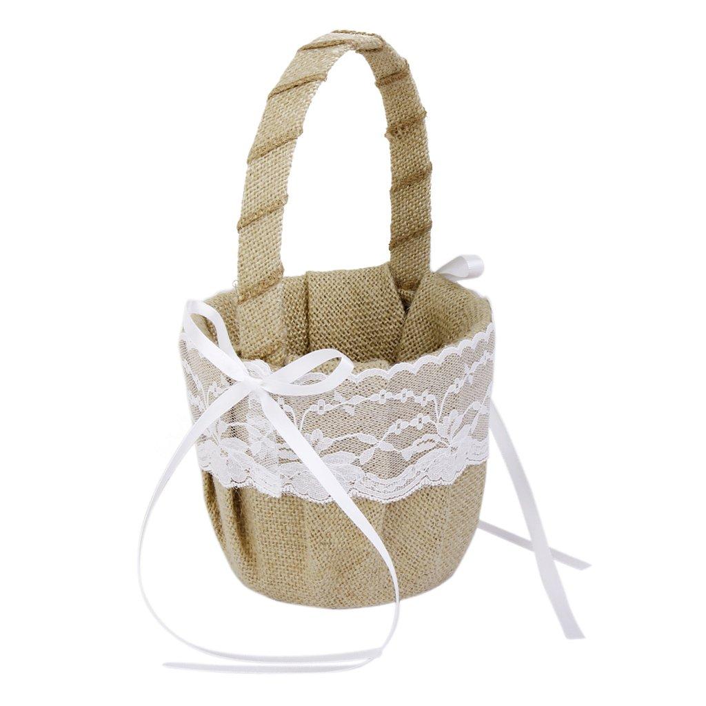 Exquisite handicraft flower basket Generic SYNCHKG125851