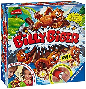 Ravensburger 22246 - Kinderspiel Billy Biber