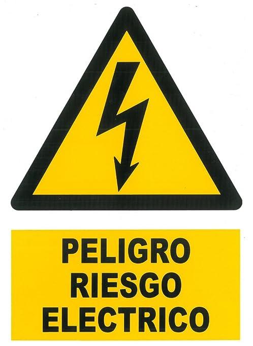 Wurko 9141 Cartel Peligro Riesgo Eléctrico