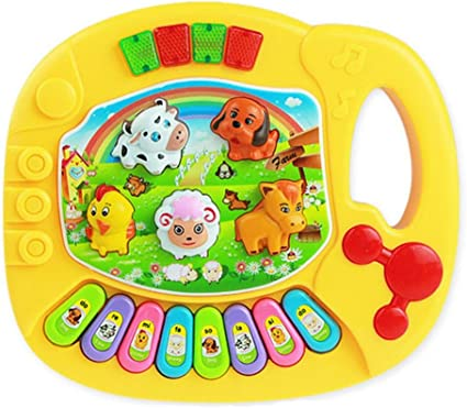 New Useful Baby Kid Animal Farm Piano Music Toy Developmental Baby Kid Toy