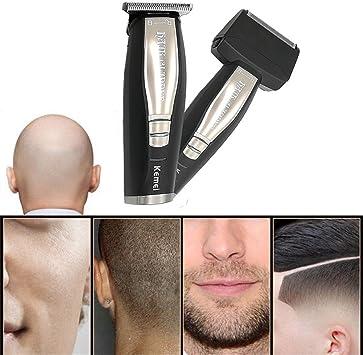 2 En 1 Pelo De La Barba Trimmer Máquina De Afeitar Eléctrica Para ...