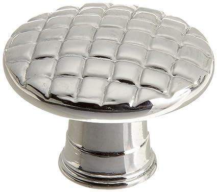Taymor 20 1316pc Basket Weave 1 1 4 Inch Knob Polished Chrome