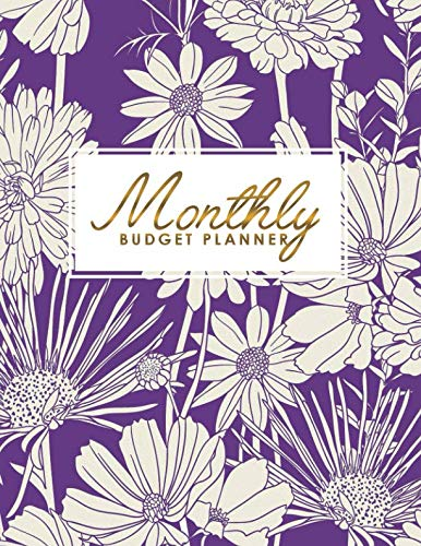 Monthly Budget Planner: Daily Weekly & Monthly Expense Tracker, Financial Organizer, Personal Bill Journal, Money ()