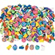 144 Pcs.  Mini Easter Eraser Assortment- Approximately 5/8 Inches - 1 Inch - New