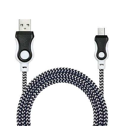 Amazon.com: Creazy - Cable cargador micro USB universal para ...