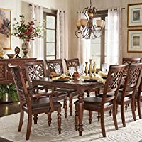iNSPIRE Q Emma Catrine Crry Extending Dining Set by Classic 6 7 Piece 7-Piece Sets