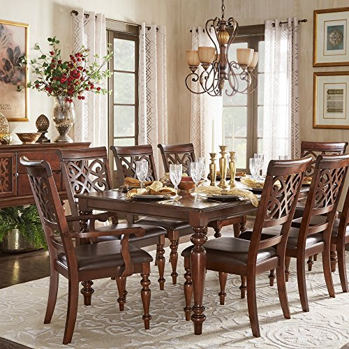 iNSPIRE Q Emma Catrine Crry Extending Dining Set by Classic 6 7 Piece 7-Piece Sets (Extending Set Table Dining)
