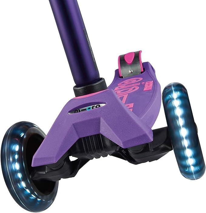Amazon.com: Micro Maxi Deluxe - Patinete de 3 ruedas con luz ...