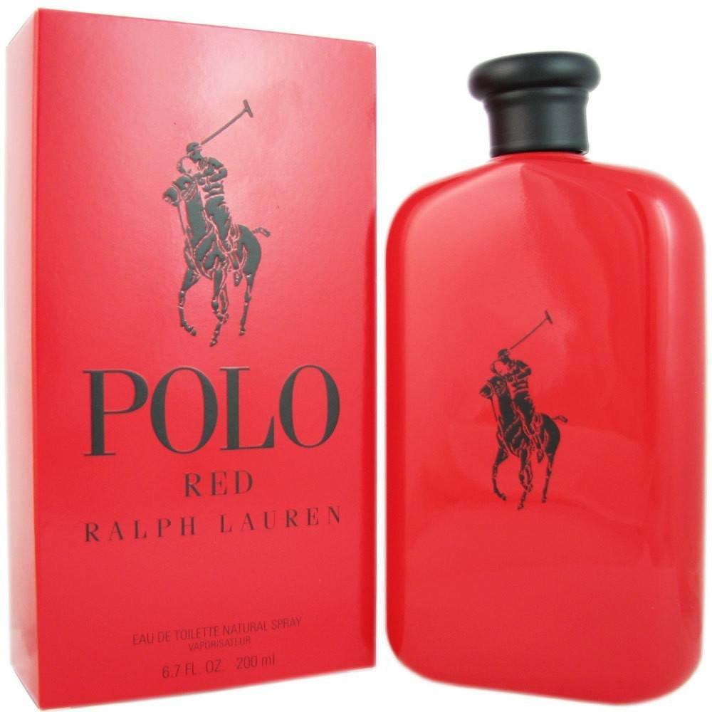 POLO RED 6.7 Fl. Oz. Eau De Toilette Spray Men by rlph lurn ...