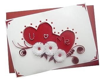 Mishti creations handmade greeting card for your love amazon mishti creations handmade greeting card for your love amazon office products m4hsunfo